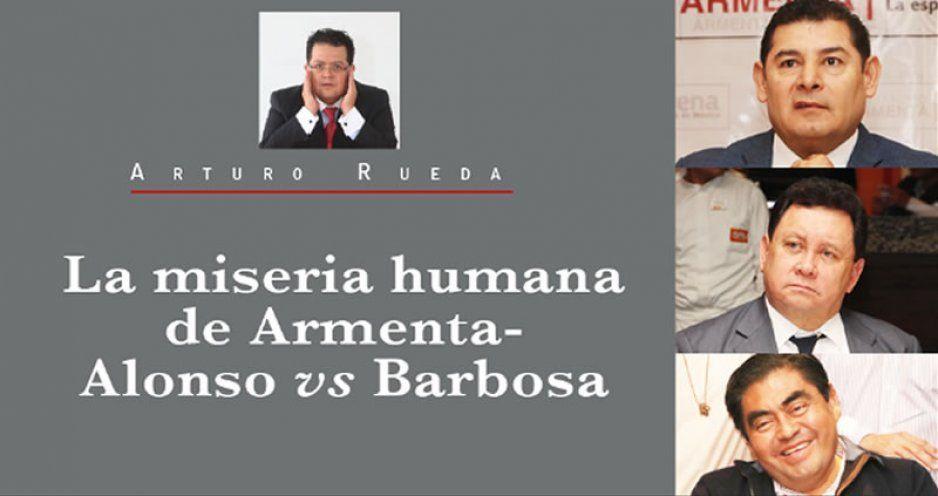 La miseria humana de Armenta-Alonso vs Barbosa