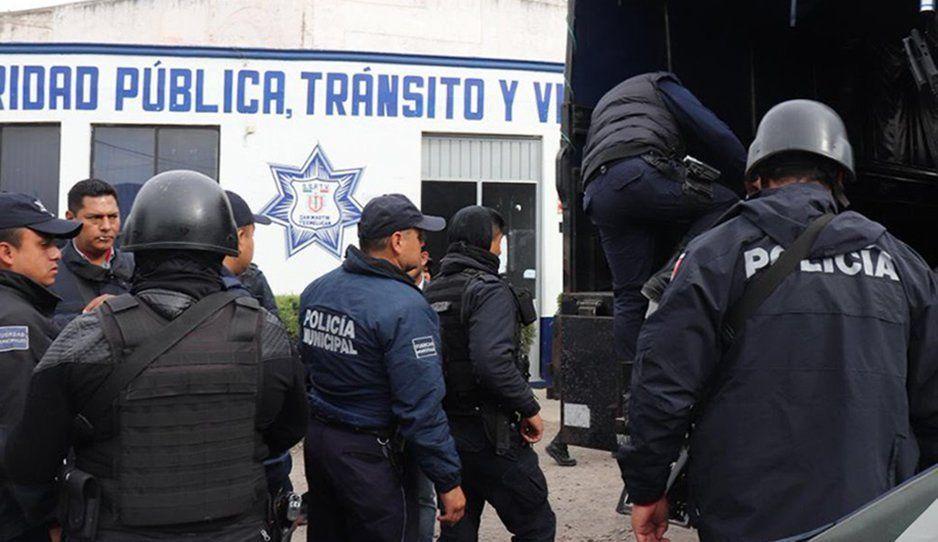 Polis de Texmelucan convocan a no trabajar por miedo a revisión: vamos a evitarnos broncas