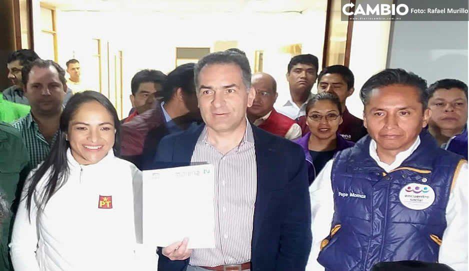 Morena, PT y PES confirman coalición para elecciones en cinco ayuntamientos