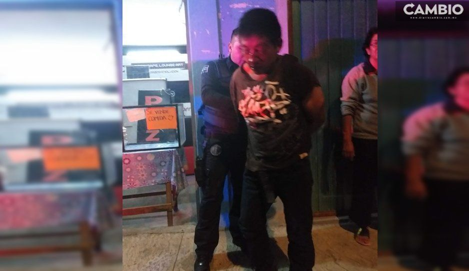 Le roba el celular a una mujer y los vecinos casi lo linchan en Cuatlancingo