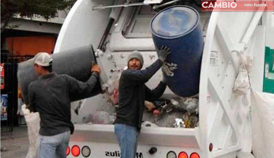 ¡Atención! La recolección de basura en Atlixco continúa como siempre