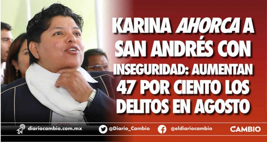 Delitos aumentan con Karina Pérez 47 % en San Andrés