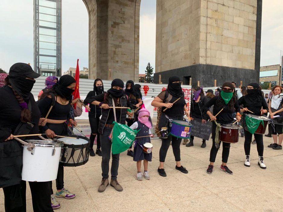 #TerremotoFeminista: mujeres participan en nueva marcha (FOTOS y VIDEO)