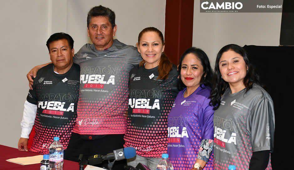 Ayuntamiento de Cuautlancingo brinda apoyo a Maratón Puebla 2019 y fomenta cultura deportiva