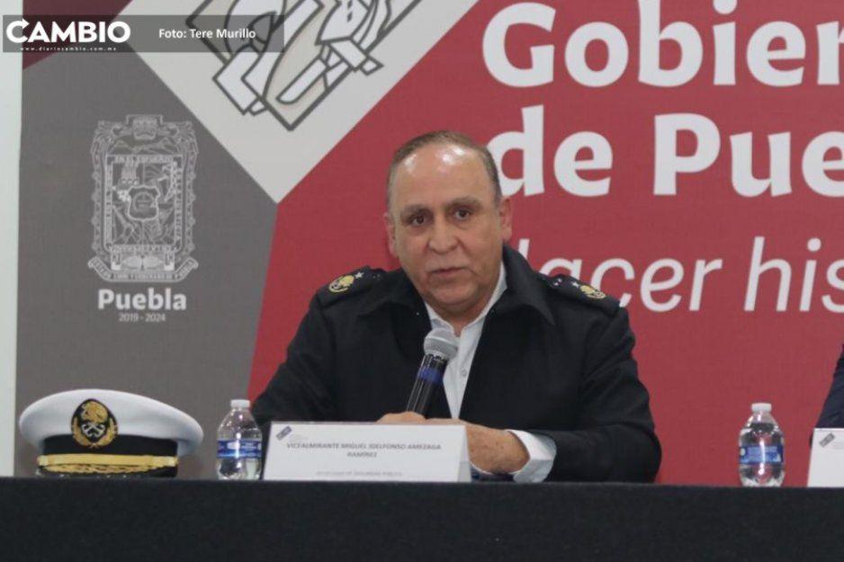 Auto que usaron para secuestrar al habitante de Tepexco tenía reporte de robo: Secretario de Seguridad Pública