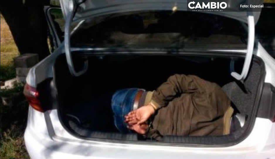Ejército libera a secuestrado y encajuelado en Tecamachalco