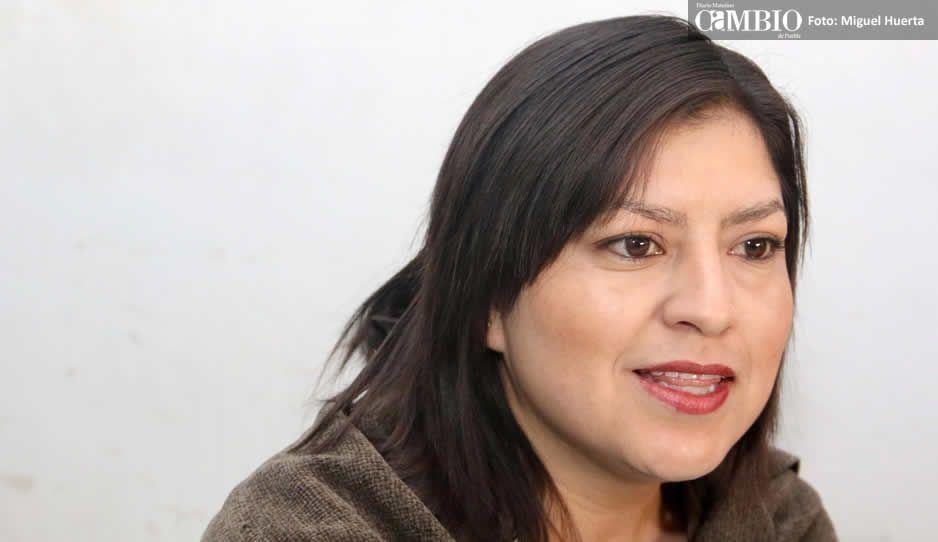 Claudia evita pronunciarse a favor de Barbosa, propone sea una mujer la candidata a gobernador interino