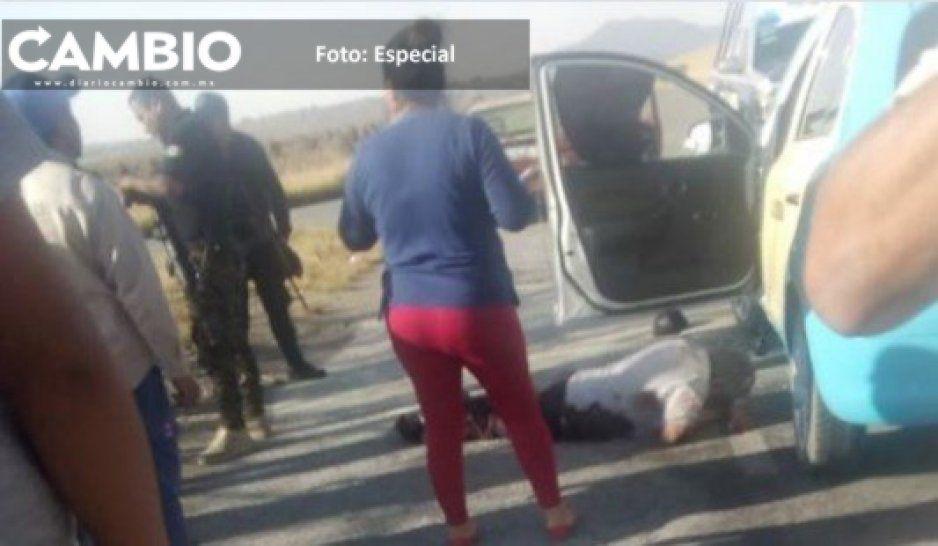 Muere taxista baleado en intento de asalto en San Juan Atenco