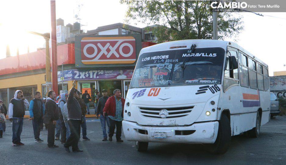 Dos pesos incremento al transporte público a partir de la última semana de julio