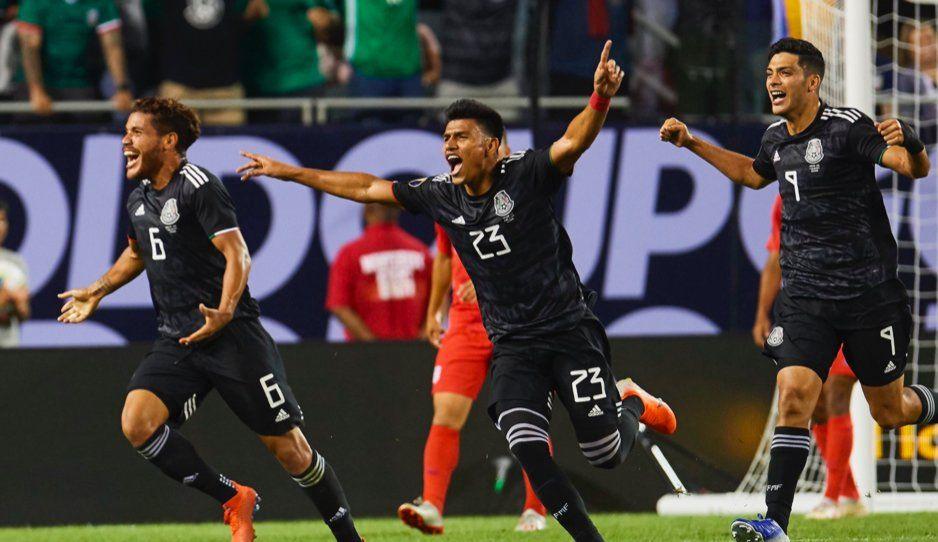 Con golazo de Jonathan Dos Santos, Mexico vence a Estados Unidos y se queda con la Copa Oro