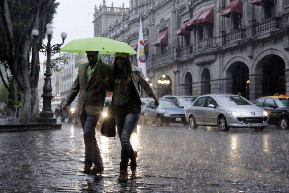 Se esperan lluvias en Puebla y 23 estados de México