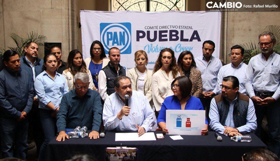 PAN adelanta que no impugnará el resultado de elección en Puebla