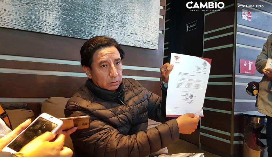 Echan a contralor de Cuautlancingo por descubrir tranzas de alcaldesa