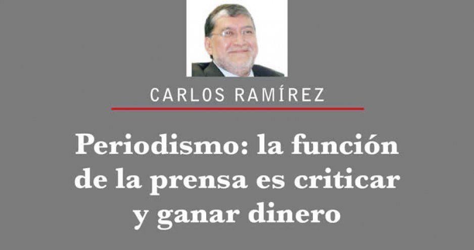 Periodismo: la función de la prensa es criticar y ganar dinero