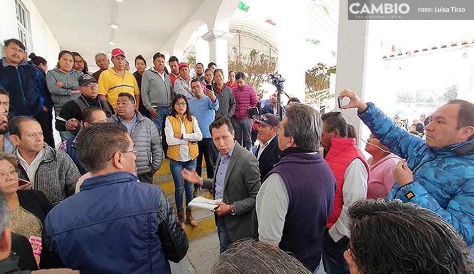 Gobierno de Cholula suspende a edil auxilar de Santa Bárbara, por quejas de pobladores