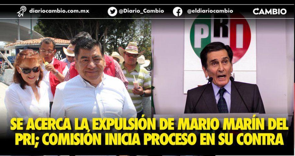 Se acerca la expulsión de Mario Marín del PRI; Comisión inicia proceso en su contra