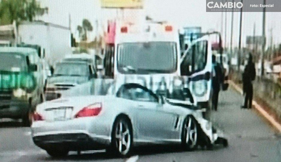 Tuca Ferretti sufre un accidente automovilístico (FOTOS)