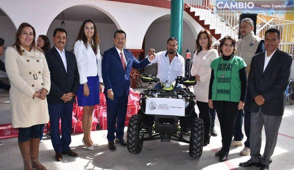 Luis Alberto Arriaga refrenda su compromiso de gobernar sin filias ni fobias en San Pedro