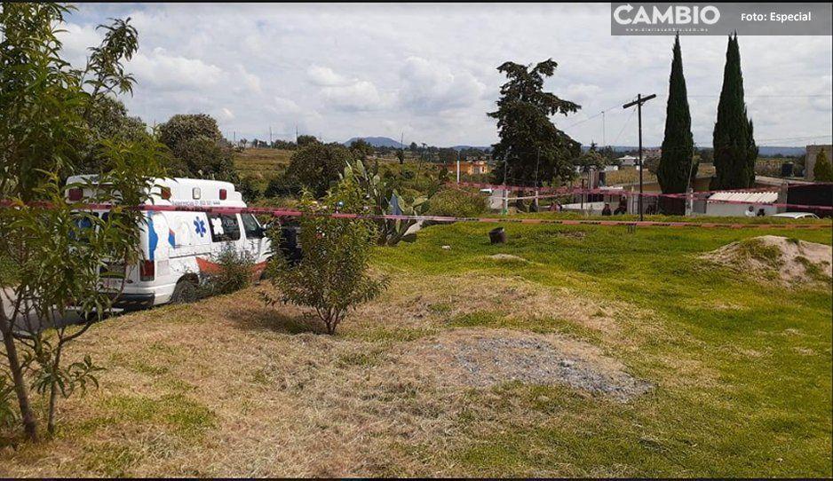 Regresa de Estados Unidos, más tarde localizan su cuerpo en una vivienda en Tlalancaleca