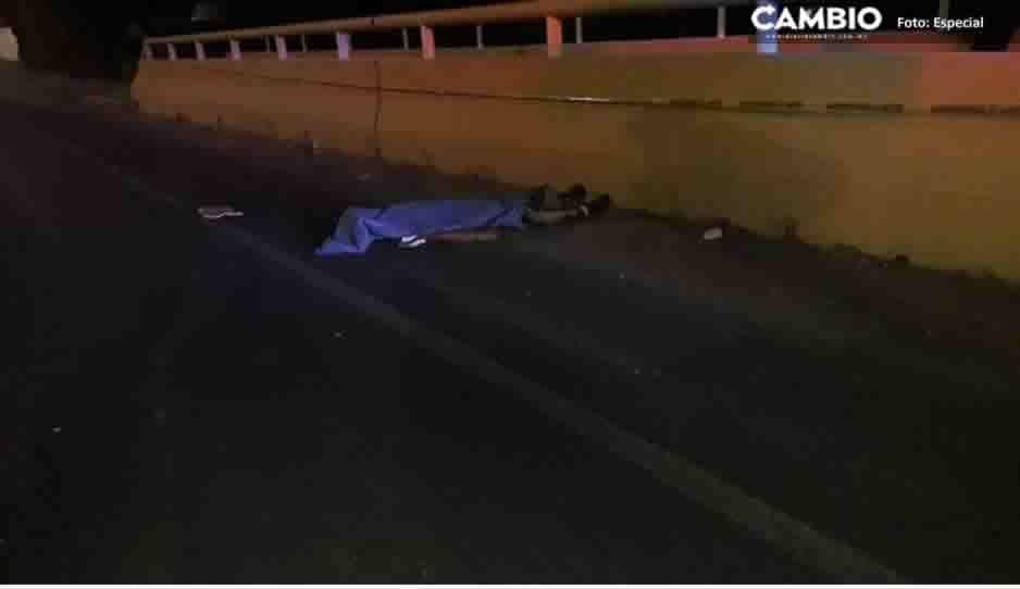 Joven muere tras ser atropellado en la Recta a Cholula
