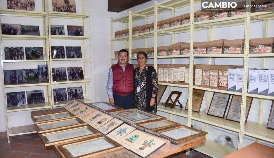 Obtiene su registro estatal archivo  municipal de San Pedro Cholula