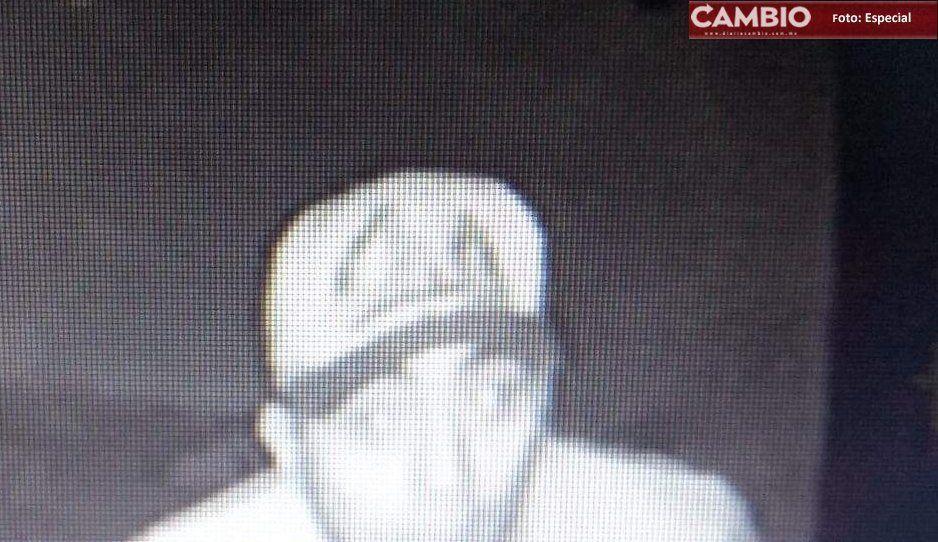 Jóvenes ladrones roban cámaras de vigilancia en Atlixco