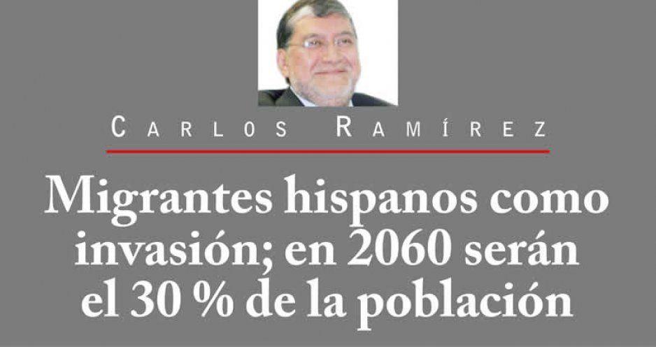Migrantes hispanos como invasión; en 2060 serán el 30 % de la población