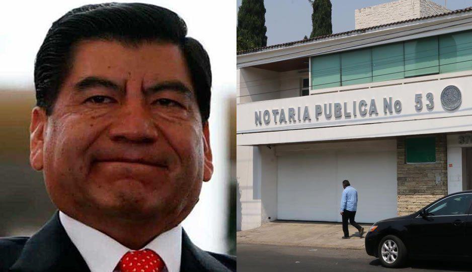 Suspende trámites en la notaria de Marín tras quitarle la patente por prófugo