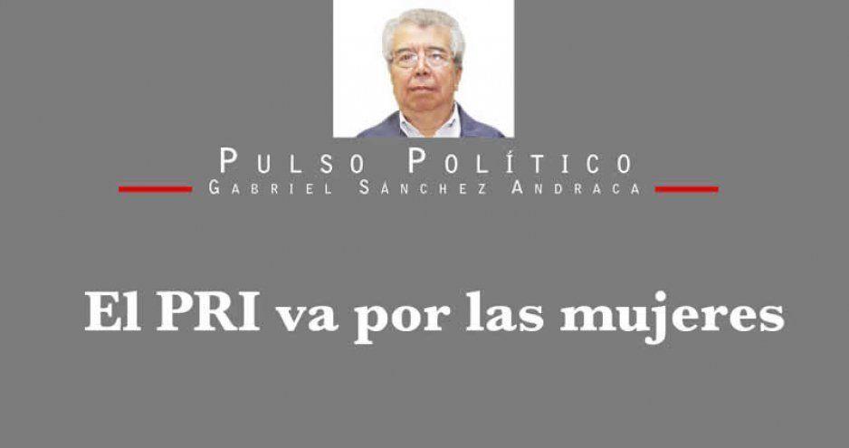 El PRI va por las mujeres