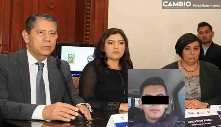 Confirma FGE y SSPTM detención del poli violador; trabajaba de albañil en Acatzingo