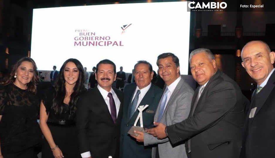Otorgan a San Pedro Cholula Premio Nacional al Buen Gobierno Municipal