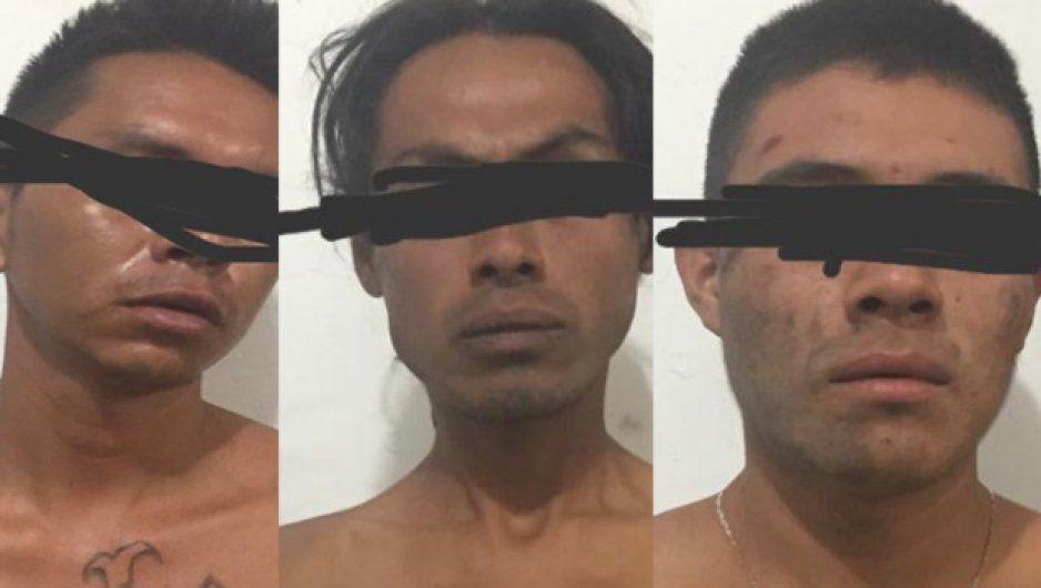 Ministeriales detienen a sujetos por narcomenudeo