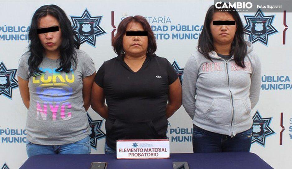Detienen a Las Verónicas, ladronas de la ruta Angelópolis Nueva Visión