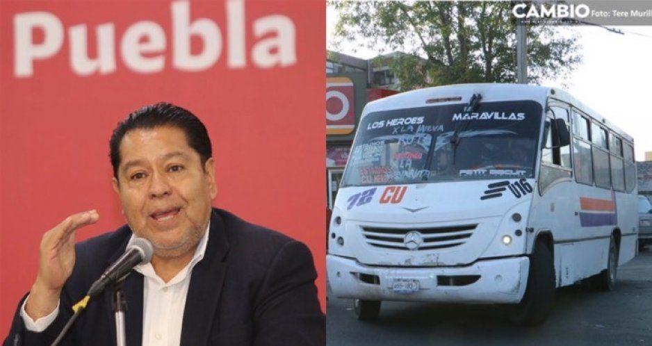 Ya es OFICIAL: 12 de octubre se aplica la nueva tarifa de 8.50 en el transporte público en Puebla (VIDEO)