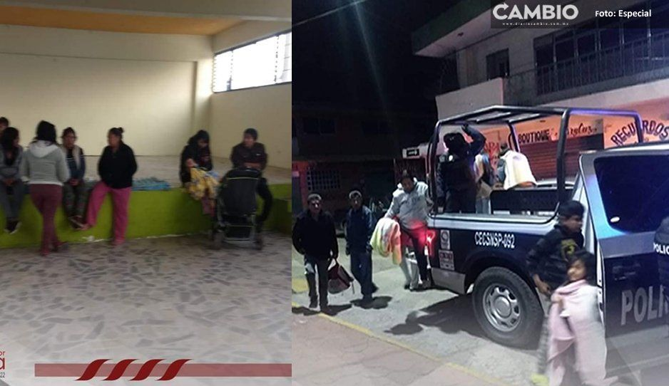 Habilitan albergue temporal en Amozoc por megafuga de huachigas