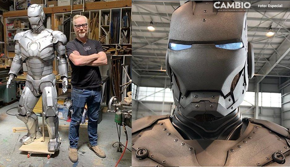 OMG! Conoce el traje de Iron Man: es a prueba de balas y vuela