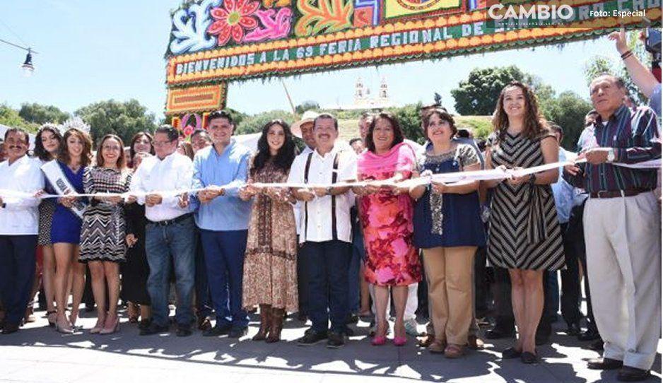 Inicia la edición 69 de la Feria de San Pedro Cholula