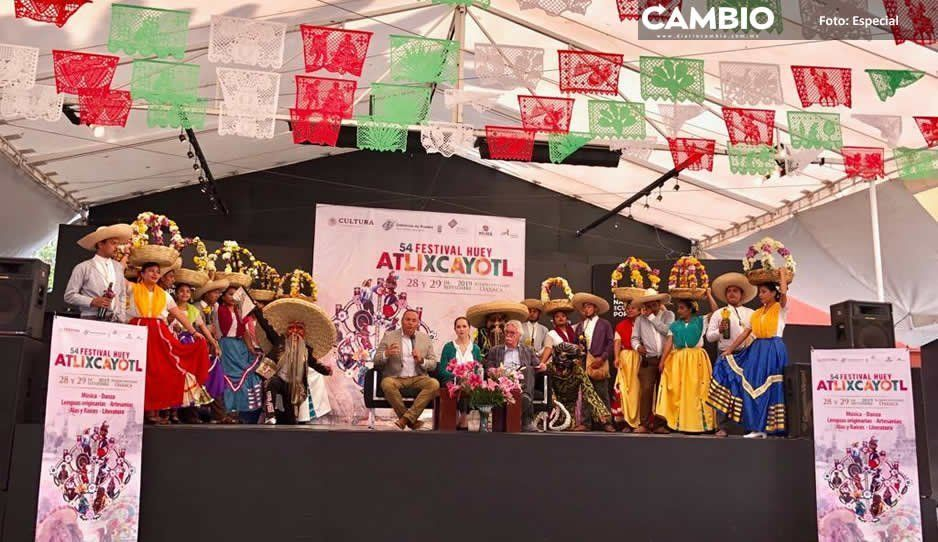 Guillermo Velázquez promueve Festival Huey Atlixcáyotl en Ciudad de México