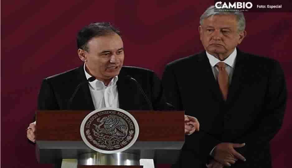 Regaña López Obrador a Durazo por declarar sobre helicopterazo