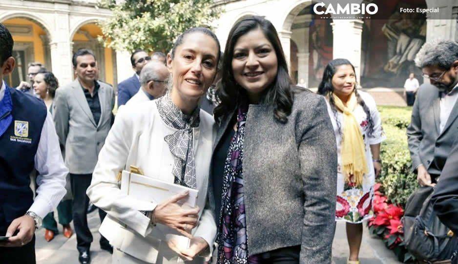 Claudia y su tocaya Sheinbaum firman convenio para cuidar Centros Históricos
