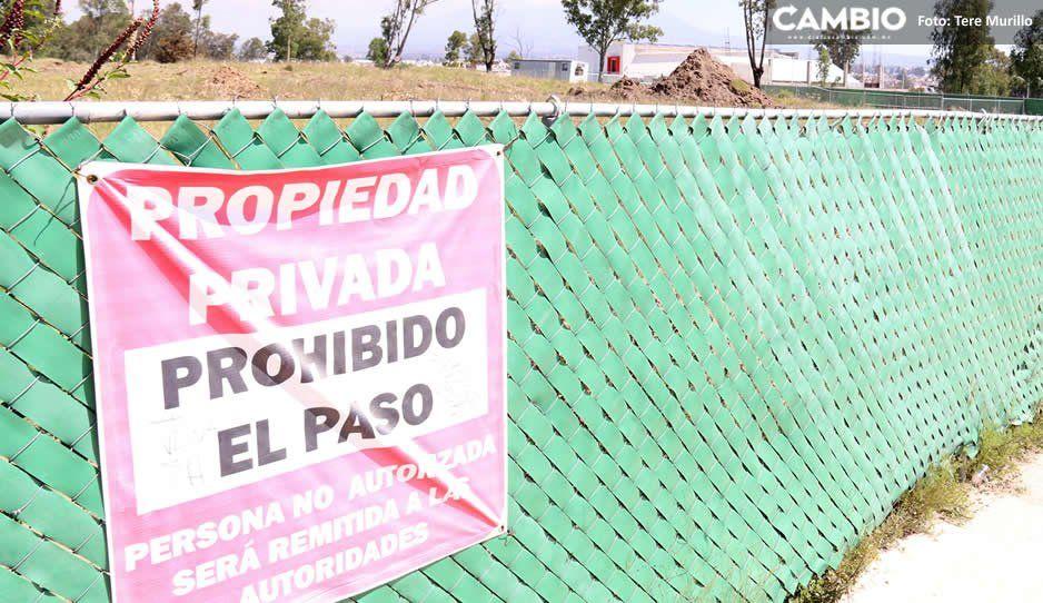 Canadevi pide a Claudia quitar la clausura temporal para la construcción de desarrollo en Amalucan