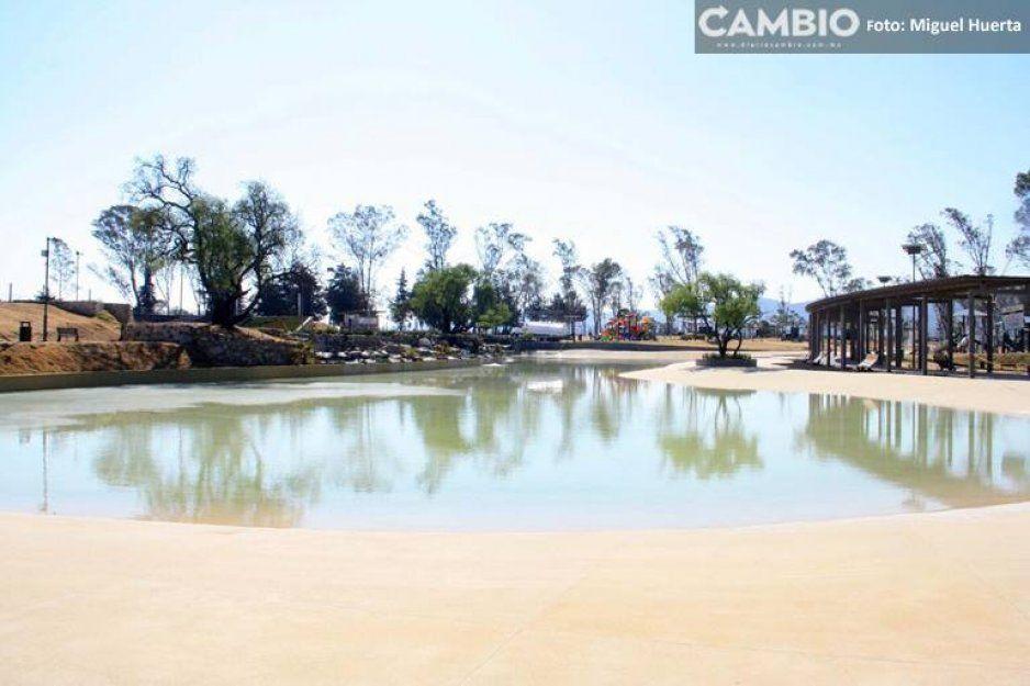 Reabren Playa Amalucan en pleno Domingo de Ramos
