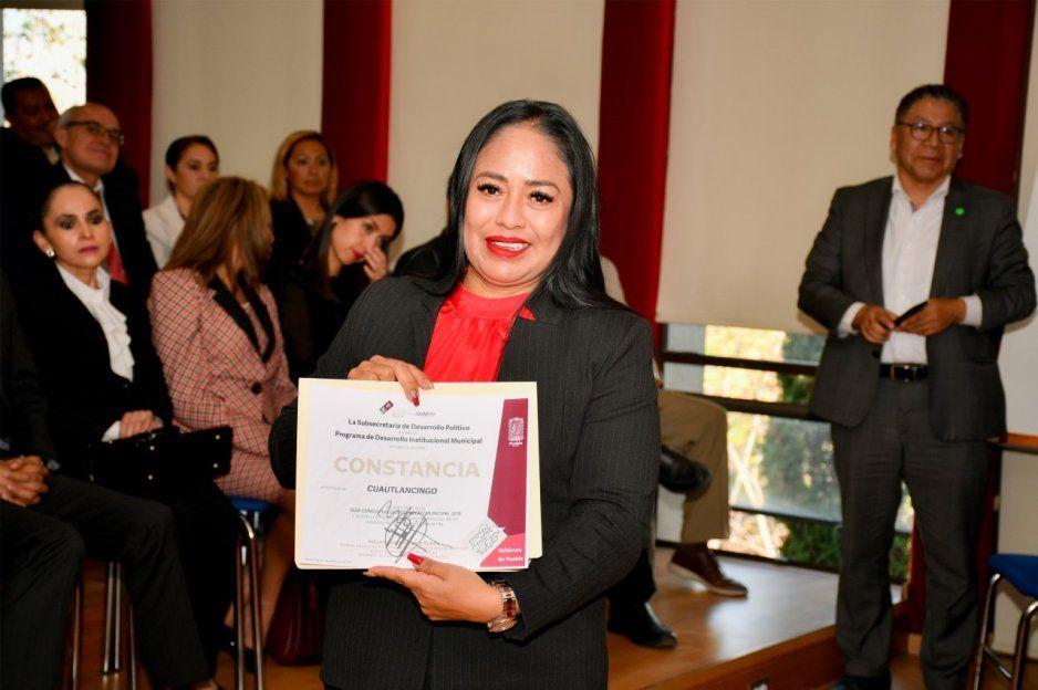 Presidenta de Cuautlancingo, Guadalupe Daniel, electa representante de los Enlaces de la Guía de Desempeño Municipal