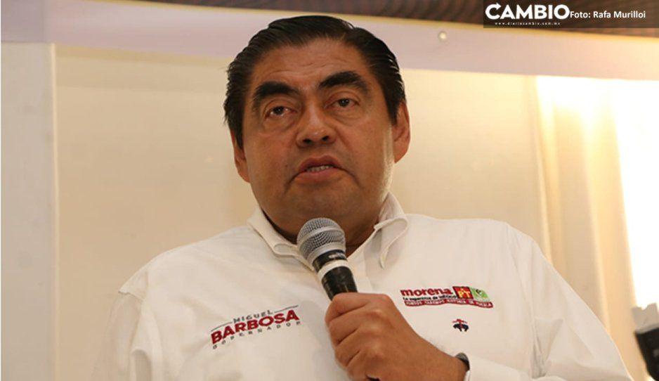 Prevé Barbosa que el titular de la SSP de su gobierno sea foráneo