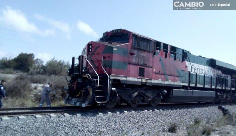 Balean a menor en intento  de asalto al tren en Cañada