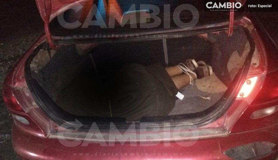 Hallan encajuelado y con tiro de gracia  a conocido huachicolero en Xicotepec