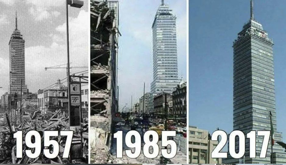 1957, 1985, 2017 los tres sismos que más estragos causaron en nuestro país