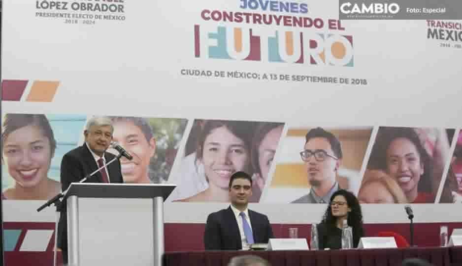 AMLO anuncia el inicio del programa Jóvenes Construyendo el Futuro