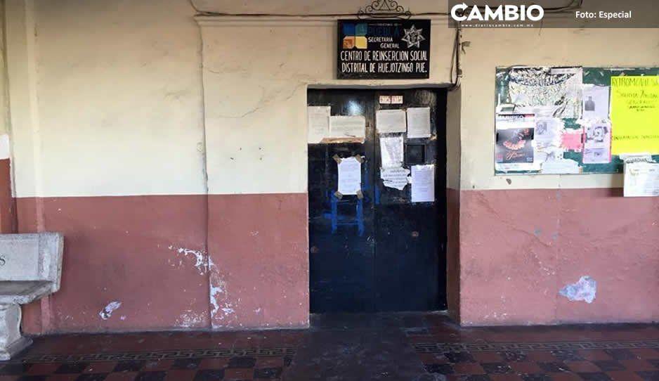 Destapan cloaca de corrupción en Cereso de Huejotzingo; cobran moches a internos