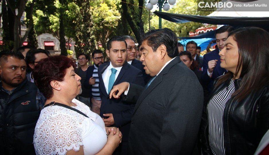 Claudia y Barbosa confirman acuerdo por la seguridad de la capital al coincidir en el Zócalo